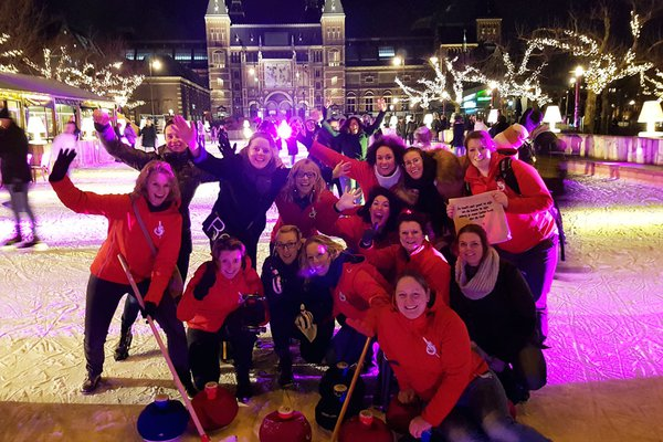 Amsterdam Fun Curling team